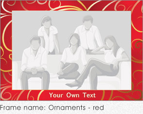 Ornaments - red